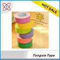 2017 Hot sale non permanent single sided masking tape roll with free sample