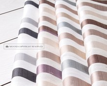 Fancy Poly And Linen Material Hotel Or Home Window Sheer Curtain Fabrics