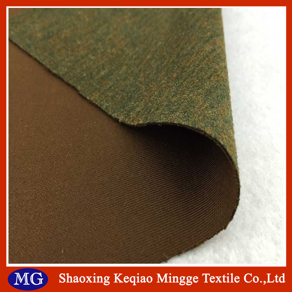 High quality cationic suede fabric for garment