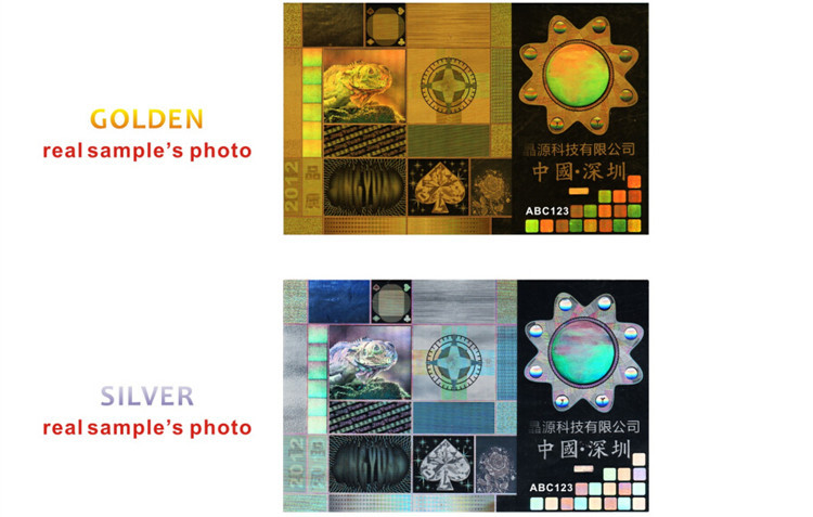 Factory Price Special 3d Certificate Hologram Stickers Anti Fake ...