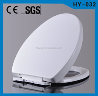 America Standard PP plastic soft closing bathroom design toilet seat sticker HY-032