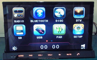 Best-selling 2 din Android OS car PC radio DM7835C with dual gps,dual BT, 3G,WIFI,,radio,audio,dvd etc for all cars