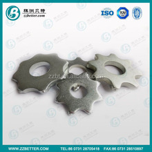 8 tips road TCT concrete tungsten scarifier carbide cutters blade