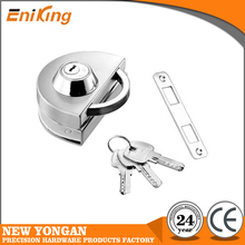 New style stainless steel commercial glass door lock