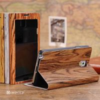 Book style pu leather phone case for samsung galaxy note 3 cover