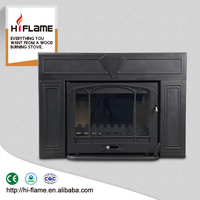 HiFlame HF577iU3 high quality indoor cast iron wood stove insert for sale