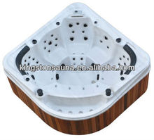 Kingstone overflow spa hot tub with pedicure chair
