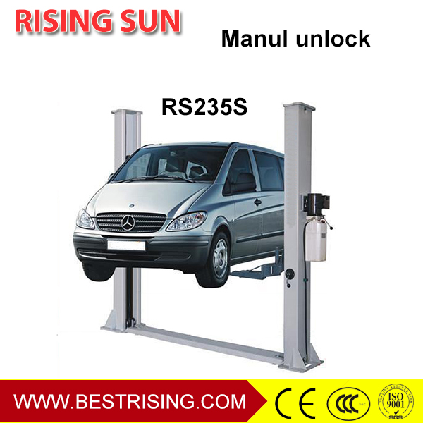Car lifting used mechanical workshop equipment