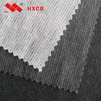(6017w)Stitch Bonded Nonwoven Clothing Interfacing 14 Needles Fabric For Suits