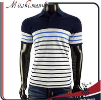 High quality branded men cotton polo t shirt wholesale clothing from guangzhou