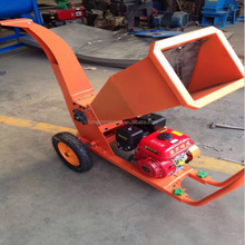 Portable gasoline tree branch cutter branch crusher branch chipper