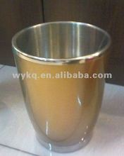 1800ml good quality/cheap stainless steel/metal/plastic double walls ice bucket/wine cooler/beer tube