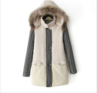 Han edition winter beautiful women leisure cardigan cotton-padded coat
