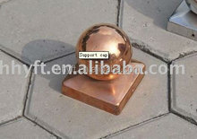 copper round fence post cap china supplier on sale