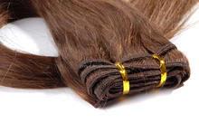 Top grade brazilian hair imported at factory price 4inch human hair weave extensions