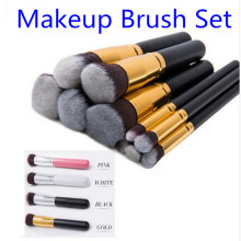 Top Quality 10 pcs Kabuki <strong>brush</strong>, Makeup <strong>Brush</strong> Set, Make up <strong>Brushes</strong>