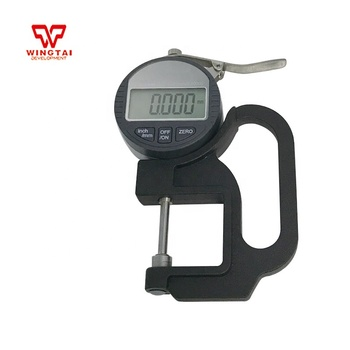 0-25mm Digital Thickness Gauge 0.001 mm Micron Thickness Gauge Measure for Glass,Paper