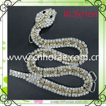 fashion snake shape shoe chain for sandal