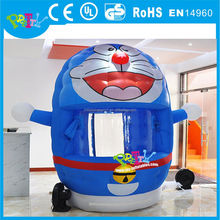 Cartoon Inflatable cash cube, cartoon inflatable cash machine