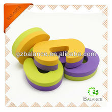 Finger pinch guard glass door stops