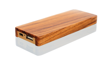 Wooden Promotional Gifts powerbank credit card 10000mah solar power bank Portable Cell Phone Charger Rohs