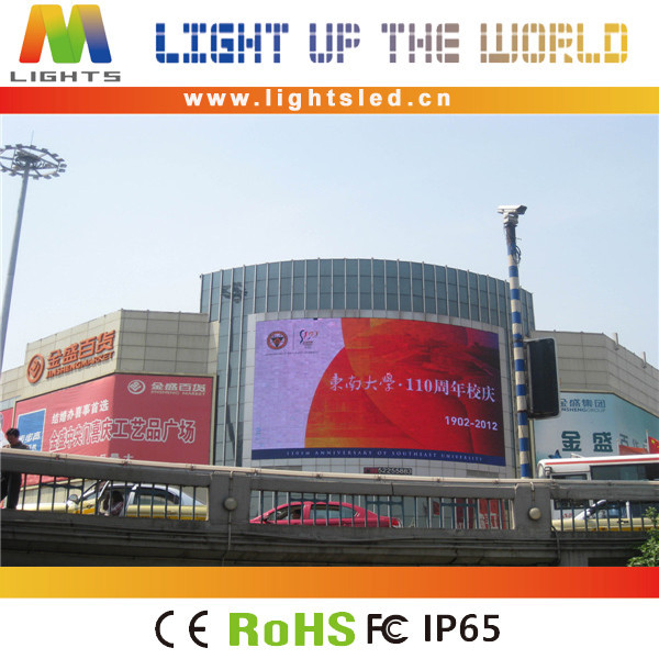 \ LightS P10mm waterproof giant screen led giant display