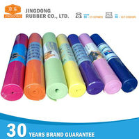 Custom pvc soft exercise yoga mat rubber