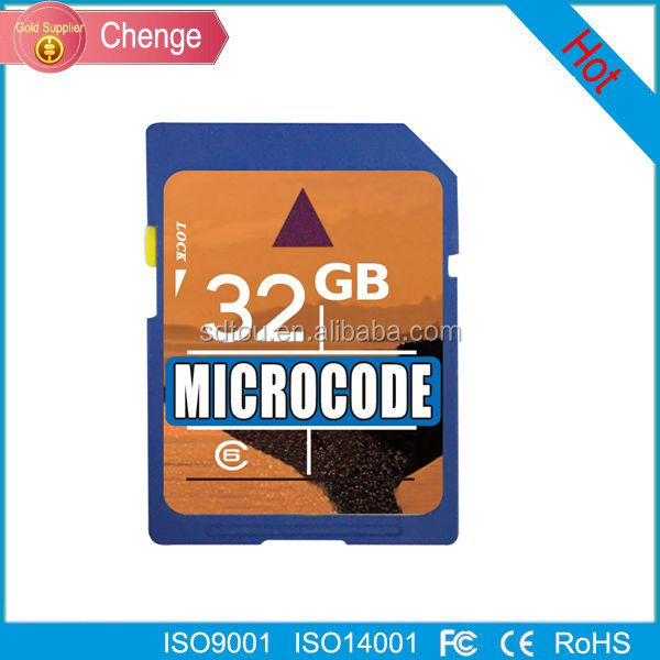 Full capacity memory cards 32GB Class10 sd memory card