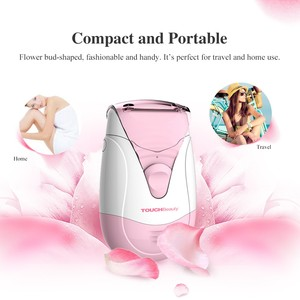 hot sellers Dual Trimmer system Waterproof IPX6 mini electric lady shaver Epilator