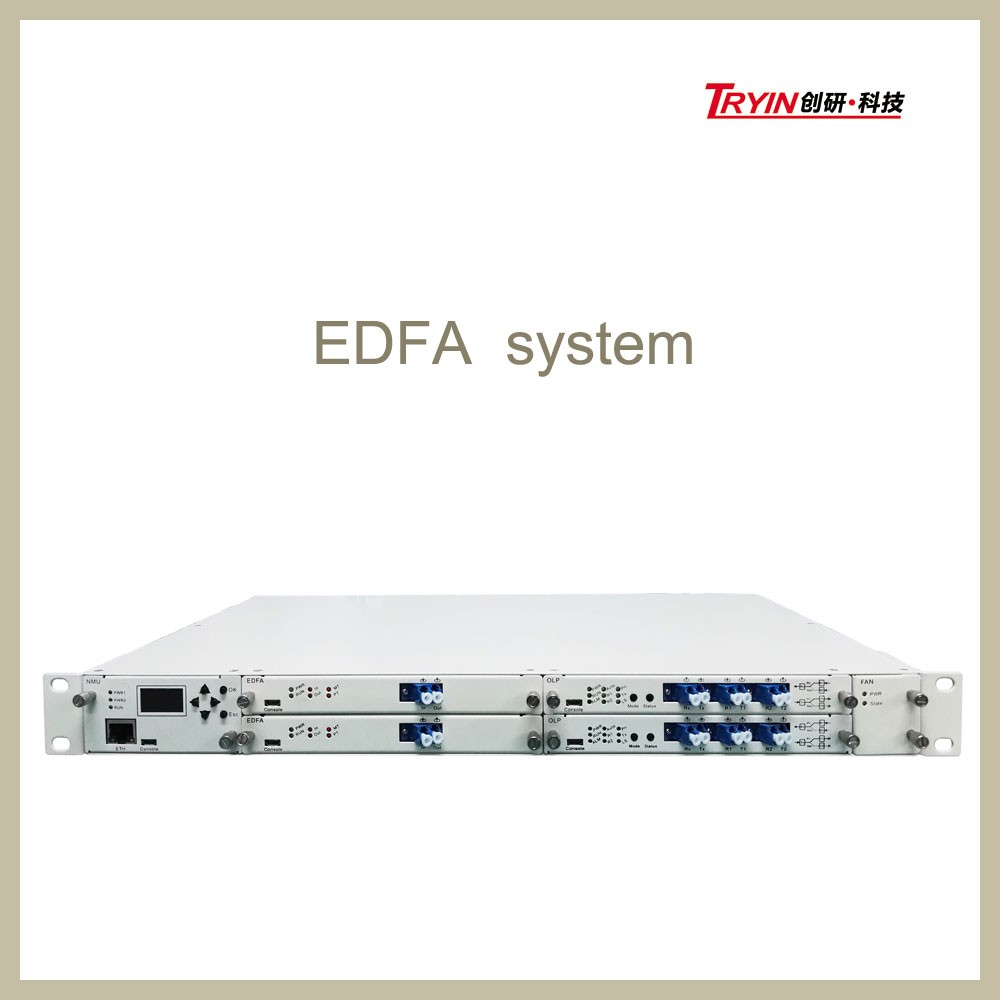 fiber optic equipment Erbium Doped Fiber Optical EDFA Amplifier Price / EDFA