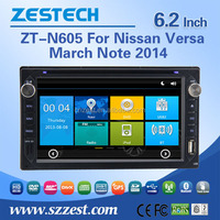 Auto Steering Wheel For Nisson Versa March Note 2014 car gps navigator with auto radio Bluetooth SD USB Radio wifi 3G