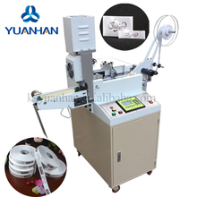 Full-Auto Ultrasonic woven labels garment label cutting machine