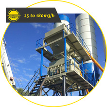 HZS25 Low Cost Fully Semi Automatic and Manural Operation Accurate Weighing Twin Shaft RMC Cement Mortar Concrete Batching Plant