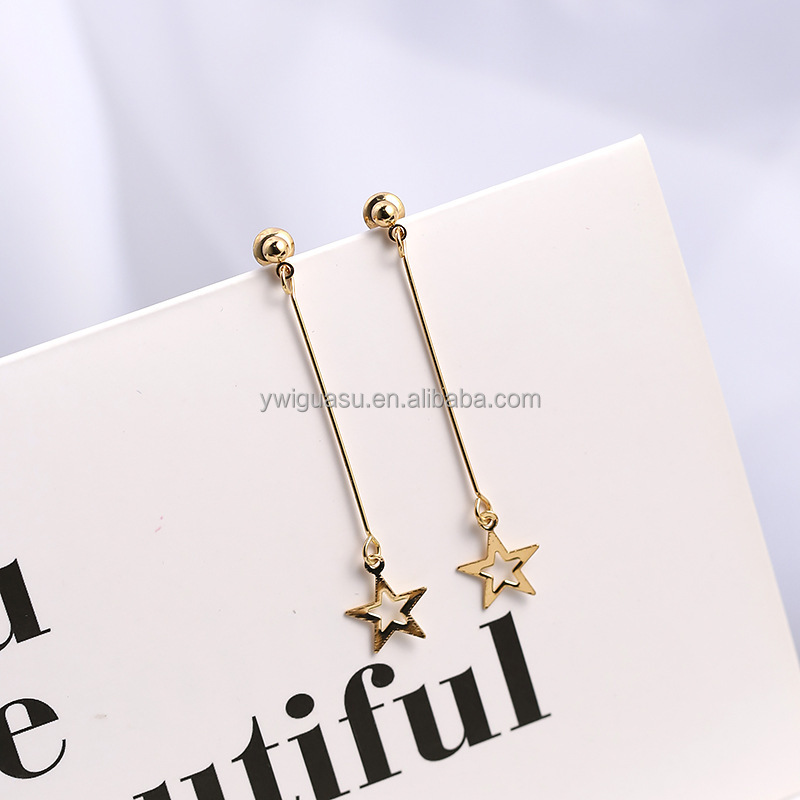 Cute Jane Gold Jhumka Starfish Earrings Design With Price And