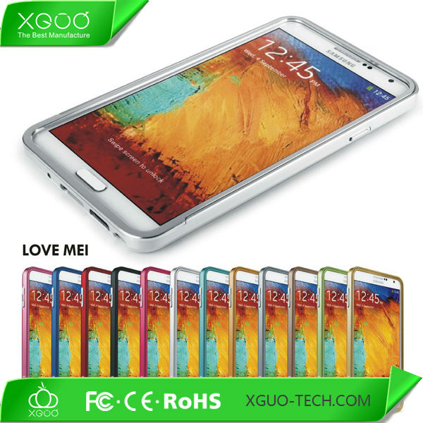 Aluminum frame metal bumper for samsung galaxy note 3