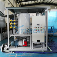 ZJA Series Double Stage High Vacuum Transformer Oil Filtration Unit with Tailer