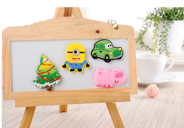 Cheap custom souvenir 3d pvc fridge magnets