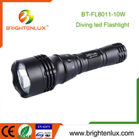 Cree xml t6 led Diving Flashlight Torch, Diving Powerful led Flashlight Waterproof, Underwater Rechargeable Diving Flashlight