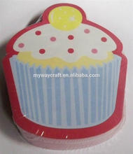 cute cupcake sticky notes various shaped sticky notes custom