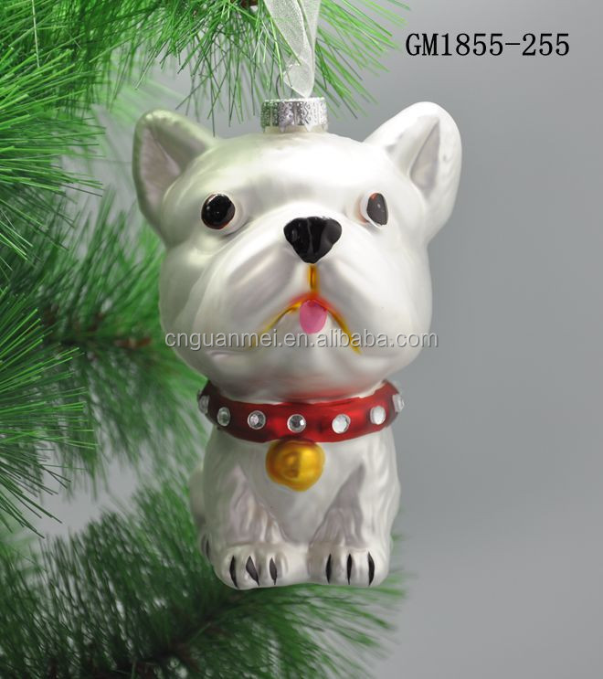 Glass mini ornaments animals