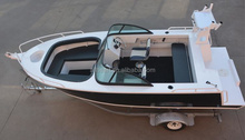 16ft 5m high quality cheap price aluminum motorboat