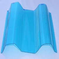 Plastic raw materials prices blue roofing shingle