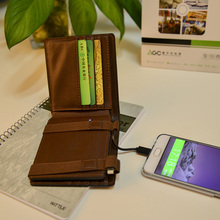 Model new design card case/package power bank new innovative model private mode functional mobile charger