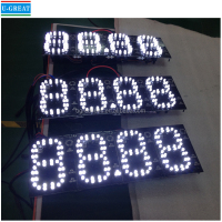Outdoor 4inch 4 digits 7 Segment LED Display for Gas Station