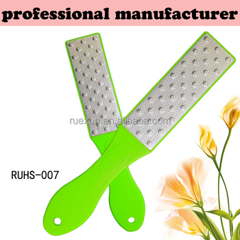 colorful high quality etching foot file