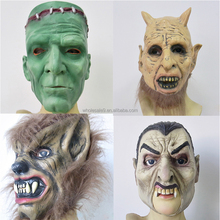 3D Halloween scary Horror mask wolf head mask party animal alien masks