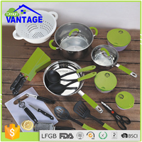 Multifunction nonstick induction cookware sets frypan pots and pans kitchen aluminium accessories
