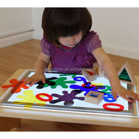 2015 new kids toy for playing studying ultra thin led light panel