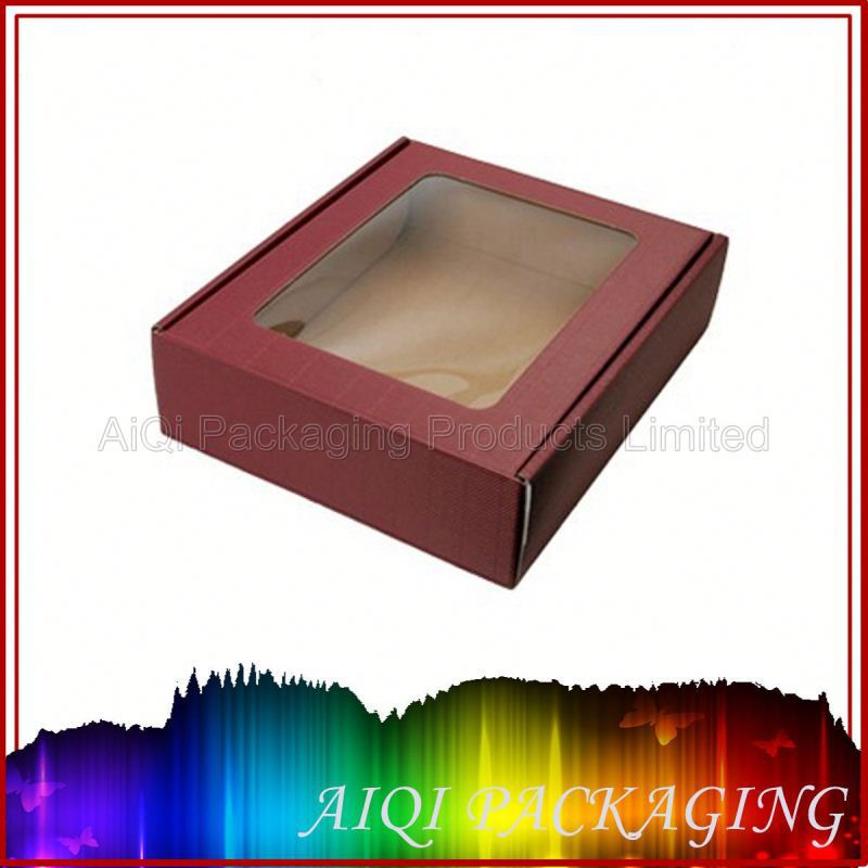 Fashinal high quality paper packaging box for wine bottle carrier / paper box