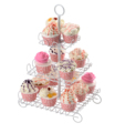 Creative Home Iron Works 3 Tiers Cupcake Stand--10'X10'X17' STAND